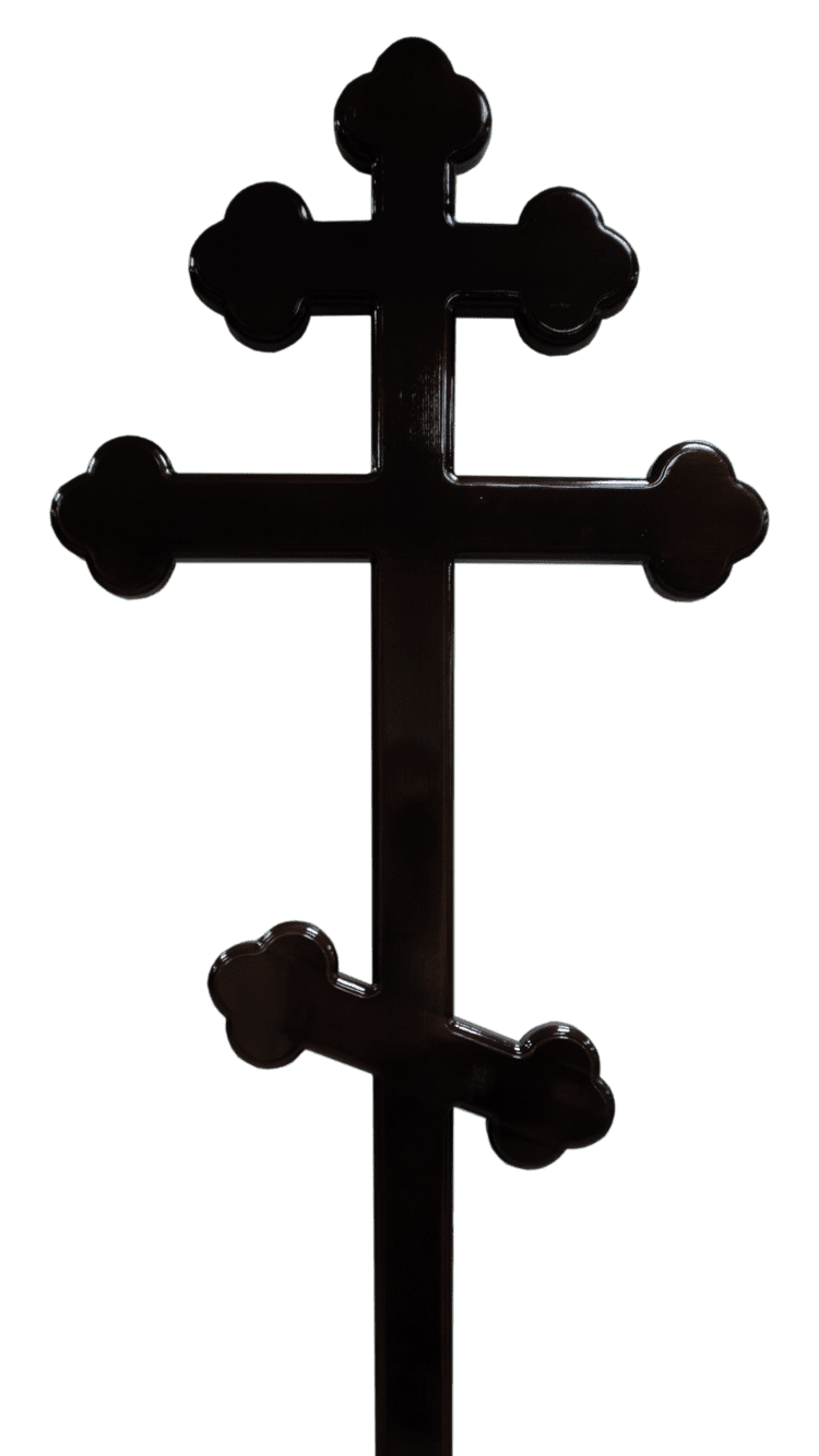 Крест надгробный 03