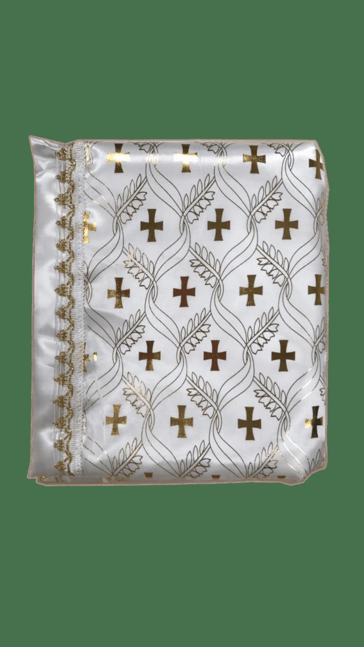 Постельный набор в гроб с крестами